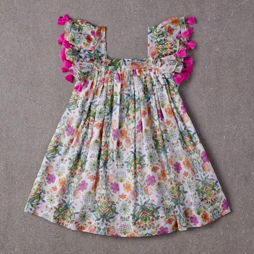 Chloe Dress (summer floral)