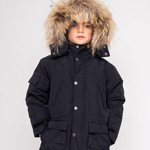 [6y]Eskimo Down Jacket #302 Black