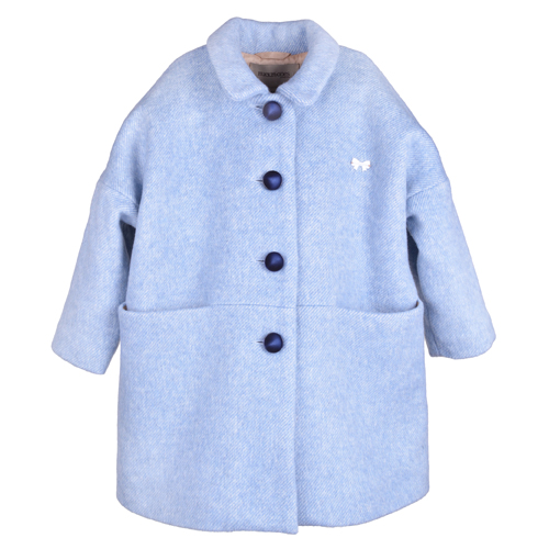 [4y]Cocoon Coat (blue haze)