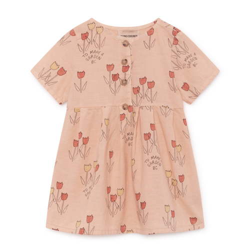 Poppy Prarie Baby Dress #214