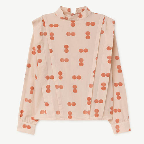 Cuckoo Shirt 1016_170 (orange circle)