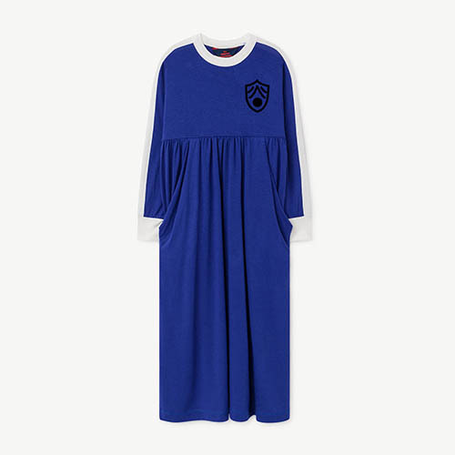 Cockatoo Dress 999_053 (blue shield)