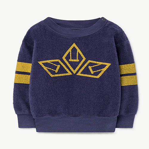 Bear Baby Sweatshirt 996_180 (blue logo)