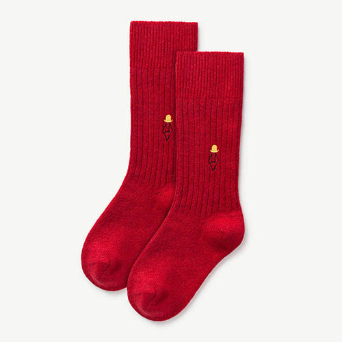 Skunk Socks 1095_063 (deep red)