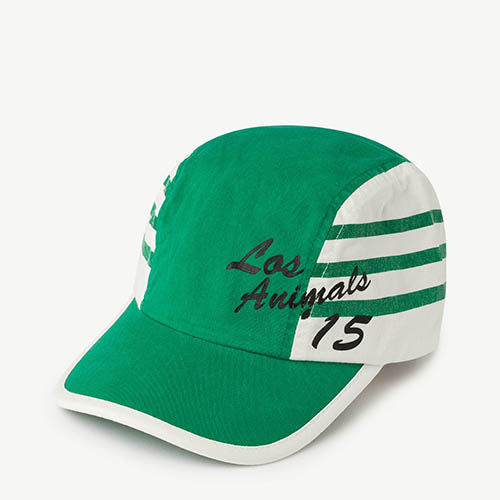 Hamster Hat 1104_188 (green stripe)
