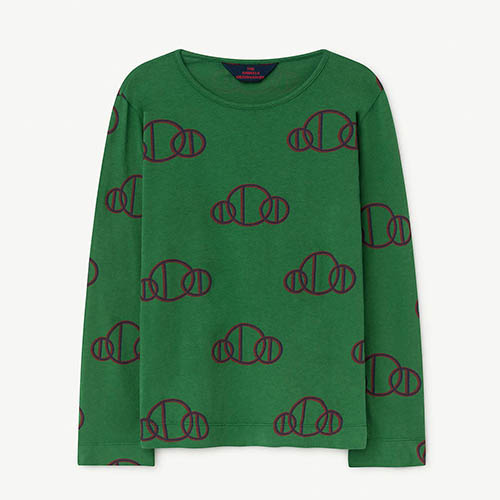 [2y]Eel Tshirt 973_177 (green circle)