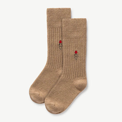 [35/38]Skunk Socks 1095_060 (soft beige)