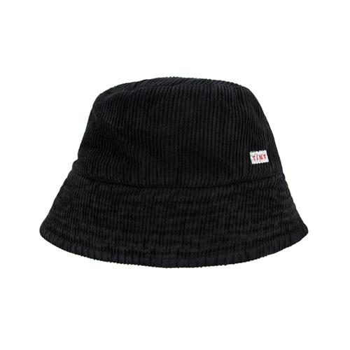 Cord Bucket Hat (black) #201