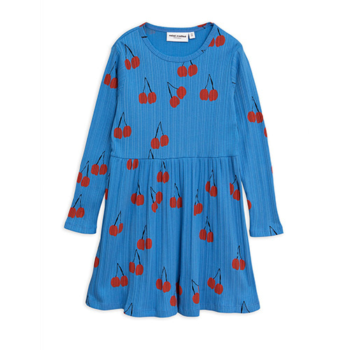 Cherry Dress (blue)