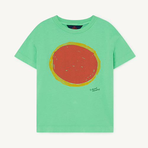 [2y]Rooster Tshirt 1125_196 (green sun)