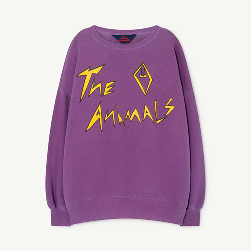 Big Bear Sweatshirt 1141_195 (violet animal)
