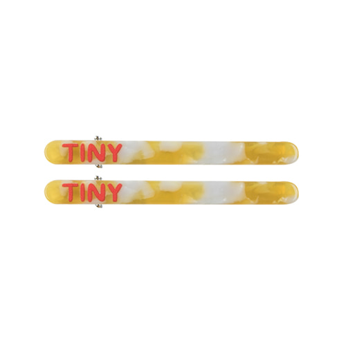 Hair Clips (yellow) #357