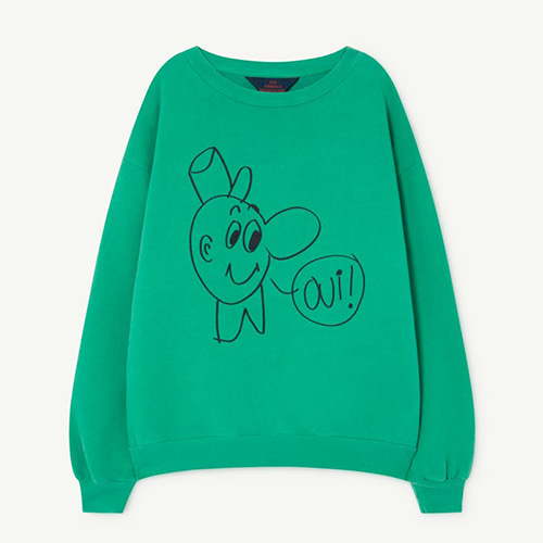 Bear Sweatshirt 1139_197 (green oui)