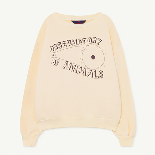 Bear Sweatshirt 1139_081 (yellow obsevatory)
