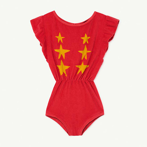 [6/10y]Koala Jumpsuit 1150_006 (red star)