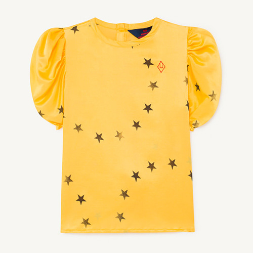 Silky Canary Blouse 1179_099 (yellow star)