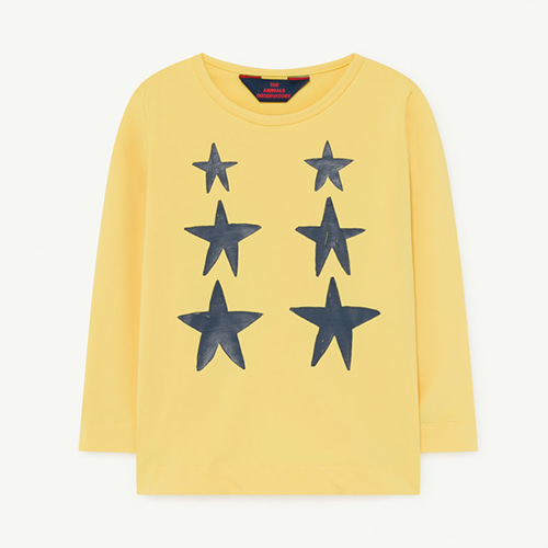 Deer Swim Tshirt 1271_099 (yellow stars)
