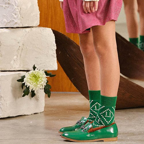 Skunk Socks1391_206 (green)