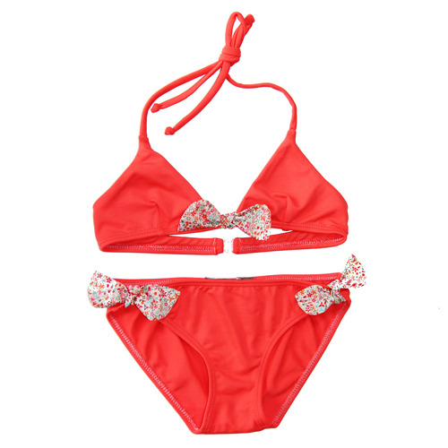 [4,8y]Corail Swimsuit