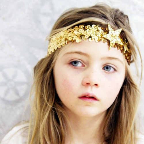 [silver]Star Sequin Headband (3colors)