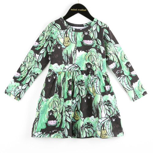 (80/86cm)Monkey LS Dress