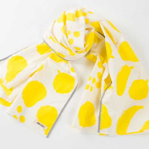 Foulard Big fruits Yellow #167