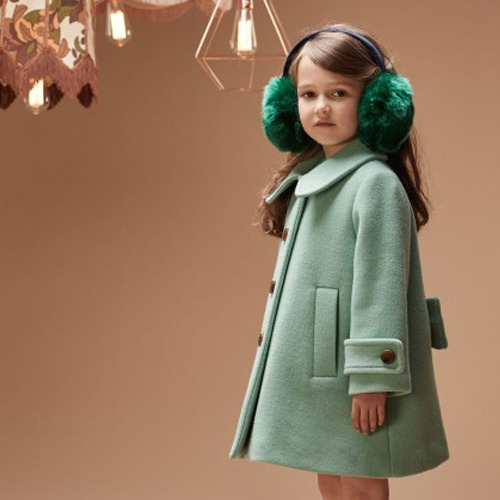 Swing Heavy Coat (emerald)