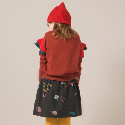 [2/3y]Ruffled Jumper Cedar #115