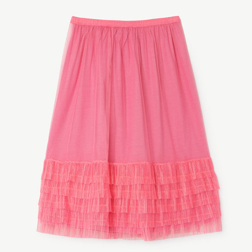 [2,3y]Rabbit Skirt (fuchsia)