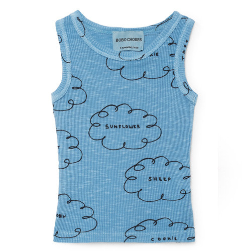Baby Tanktop Clouds #156