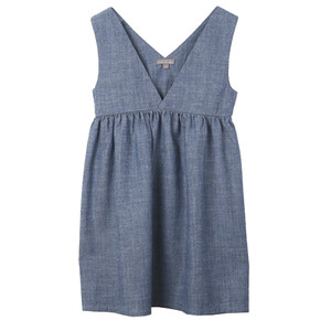 [2,4,6,8y]Dress #33 (chambray)