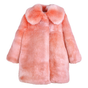 Faux Fur Coat (milkshake)