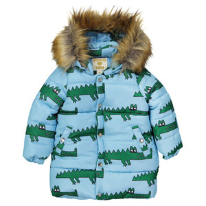 [2,6y]Winter Coat (crocodile)