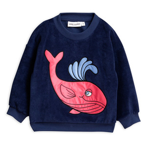Whale Terry Sweatshirt
