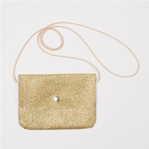 Mini Glitter Bag (gold)