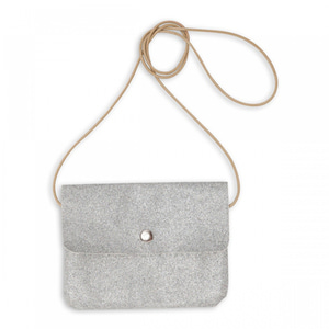 [8월초배송] Bonton Mini Glitter Bag (silver)