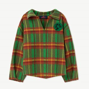 [4/8y]Hog Shirt 1050_115 (green squre)
