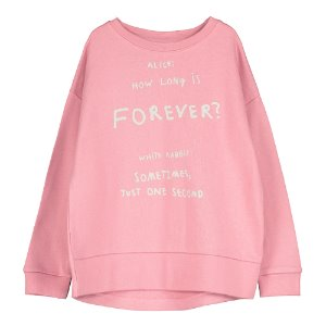 Ralaxed Sweatshirt (love forever pink)