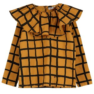 Collared Top (grid)