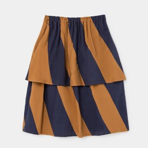 Stripe Midi Skirt #76