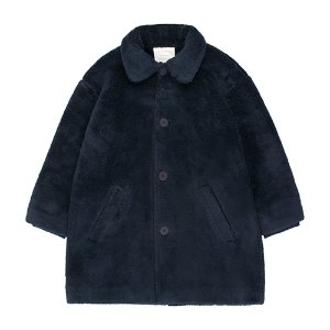Faux Fur Coat (navy) #265