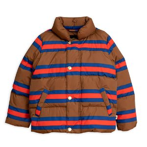Stripe Puffer Jacket