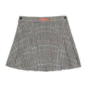 Tweed Pleated Skirt #222