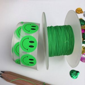 String Roll - neon green