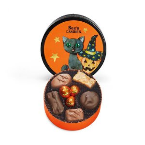 See's Candy Midnight Cat Box