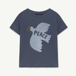 Rooster Tshirt 1425_161 (blue dove)