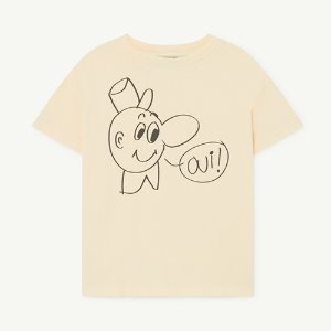 Rooster Tshirt 1125_081 (yellow oui)