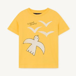 Rooster Tshirt 1125_016 (yellow bird)