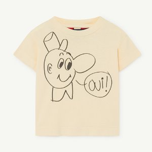 Rooster Baby Tshirt 1126_081 (yellow oui)