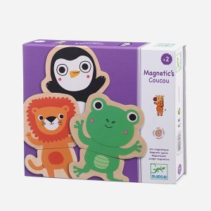 Animals Wood Magnetic Puzzel